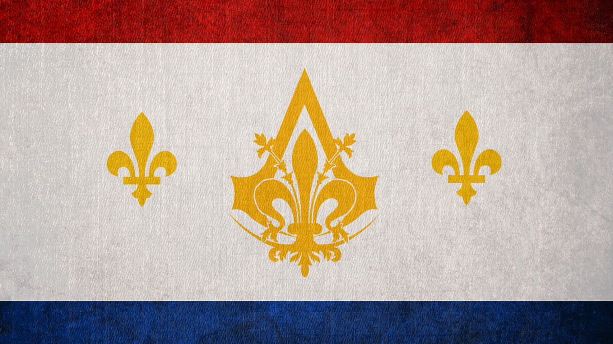 Assassin's Creed: Flag of the New Orleans Bureau by okiir