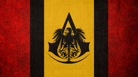 Assassin's Creed: Flag of the German Bureau by okiir