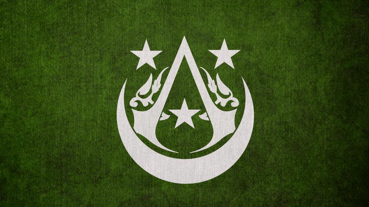 Assassins Creed Arabian Brotherhood Flag By Okiir On