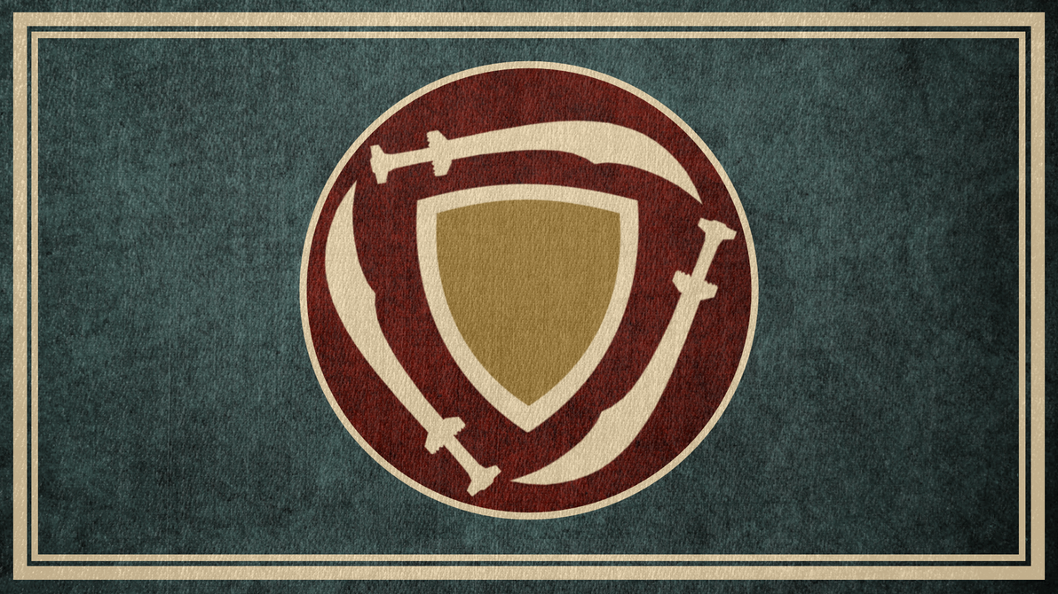 The Elder Scrolls: Flag of Hammerfell by okiir