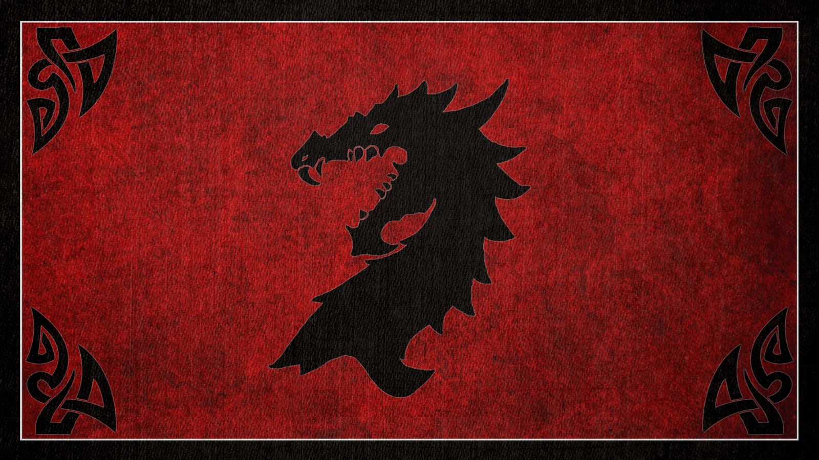 The Elder Scrolls: Flag of the Ebonheart Pact by okiir