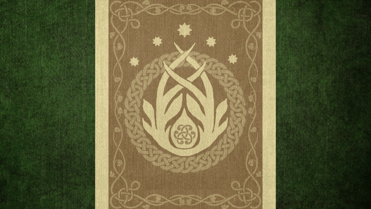 The Elder Scrolls: Flag of Valenwood by okiir