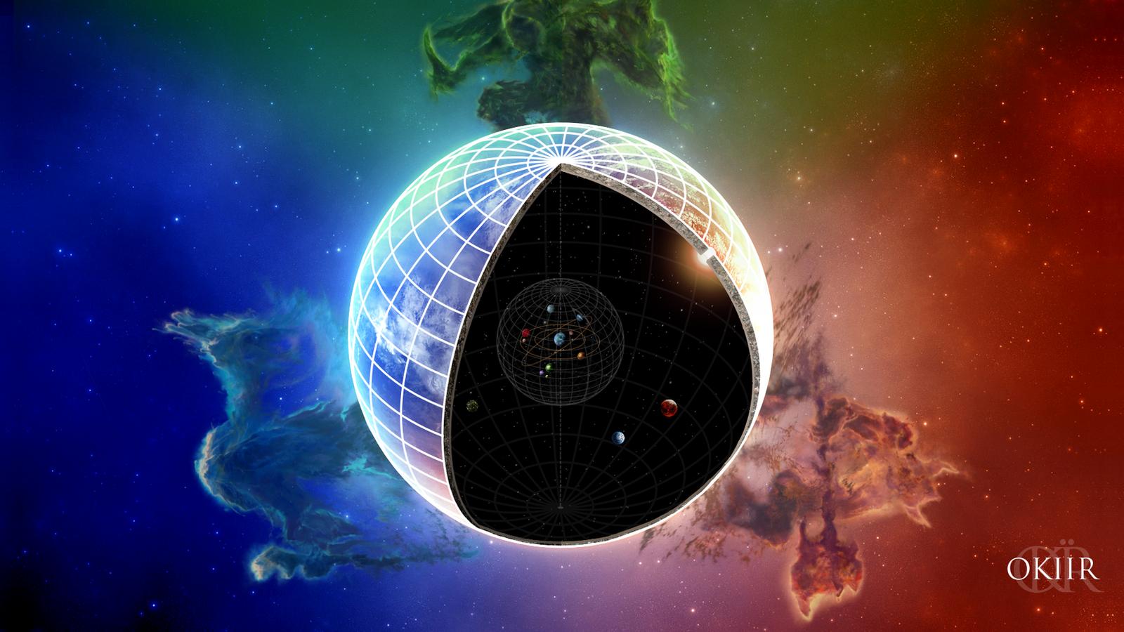 The Elder Scrolls: Cosmology Wallpaper by okiir