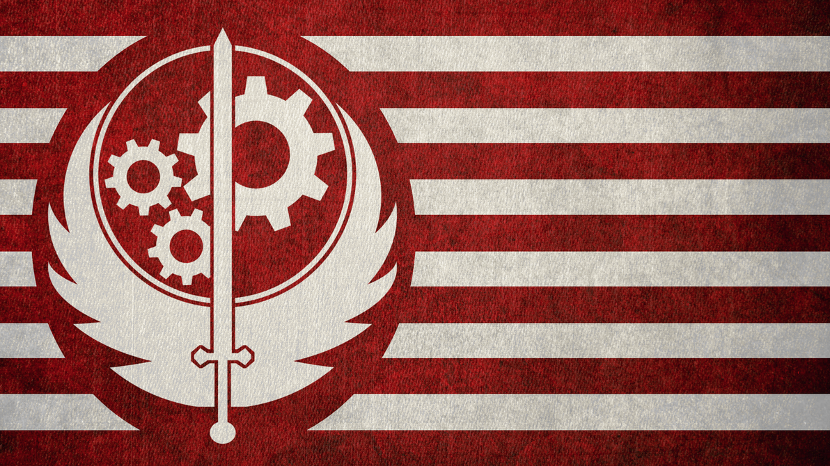 FALLOUT Flag Of The Brotherhood Steel By Okiir