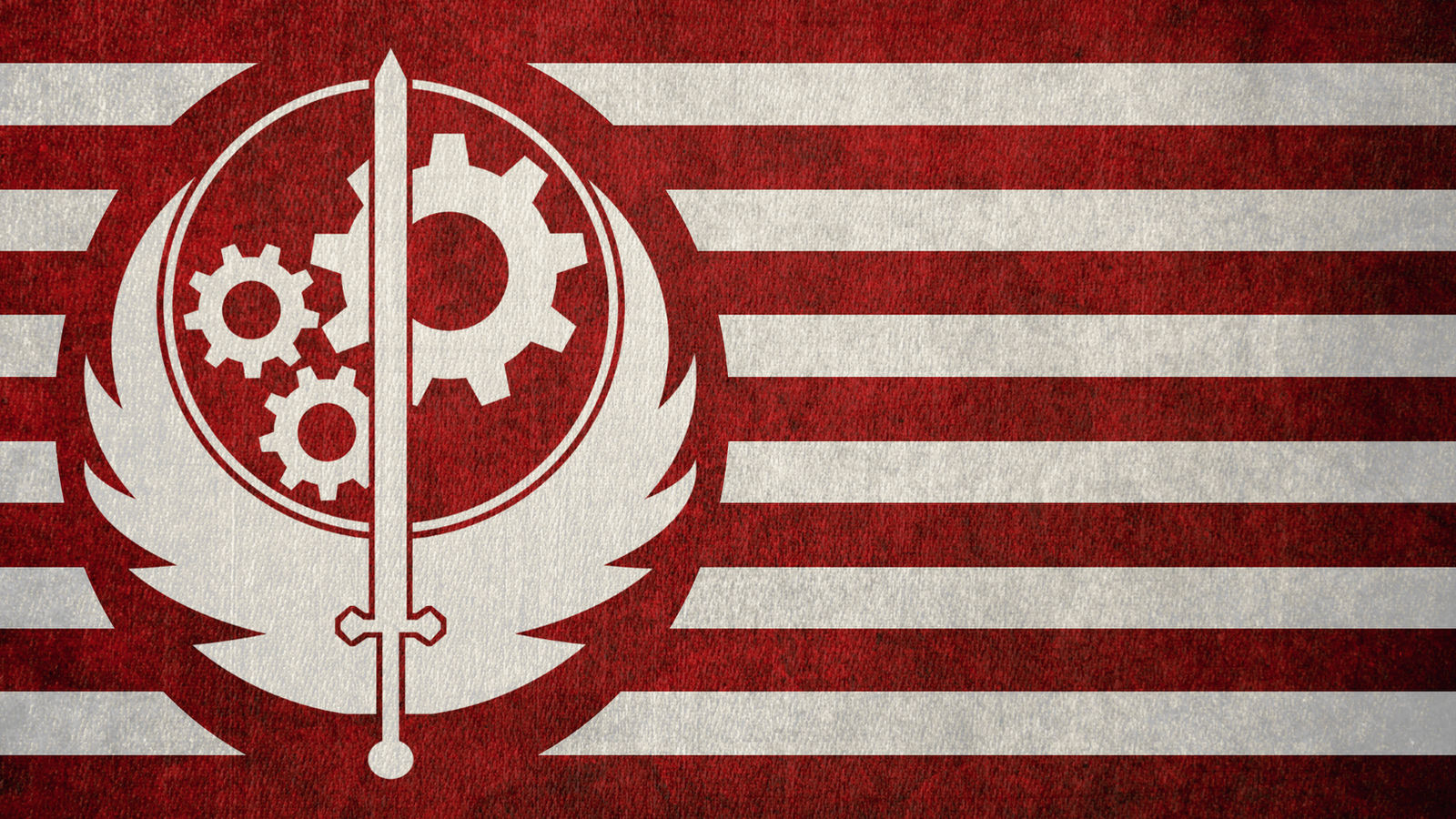 Fallout Flag Of The Brotherhood Of Steel By Okiir On Deviantart
