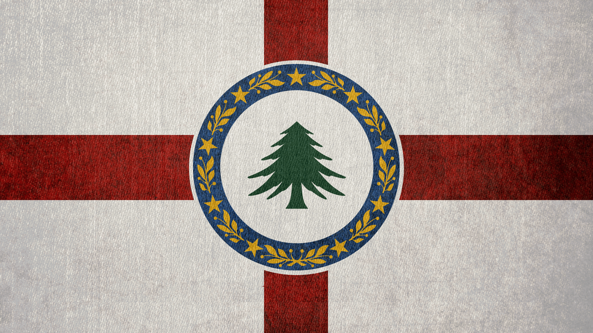 FALLOUT: Flag of the New England Commonwealth by okiir
