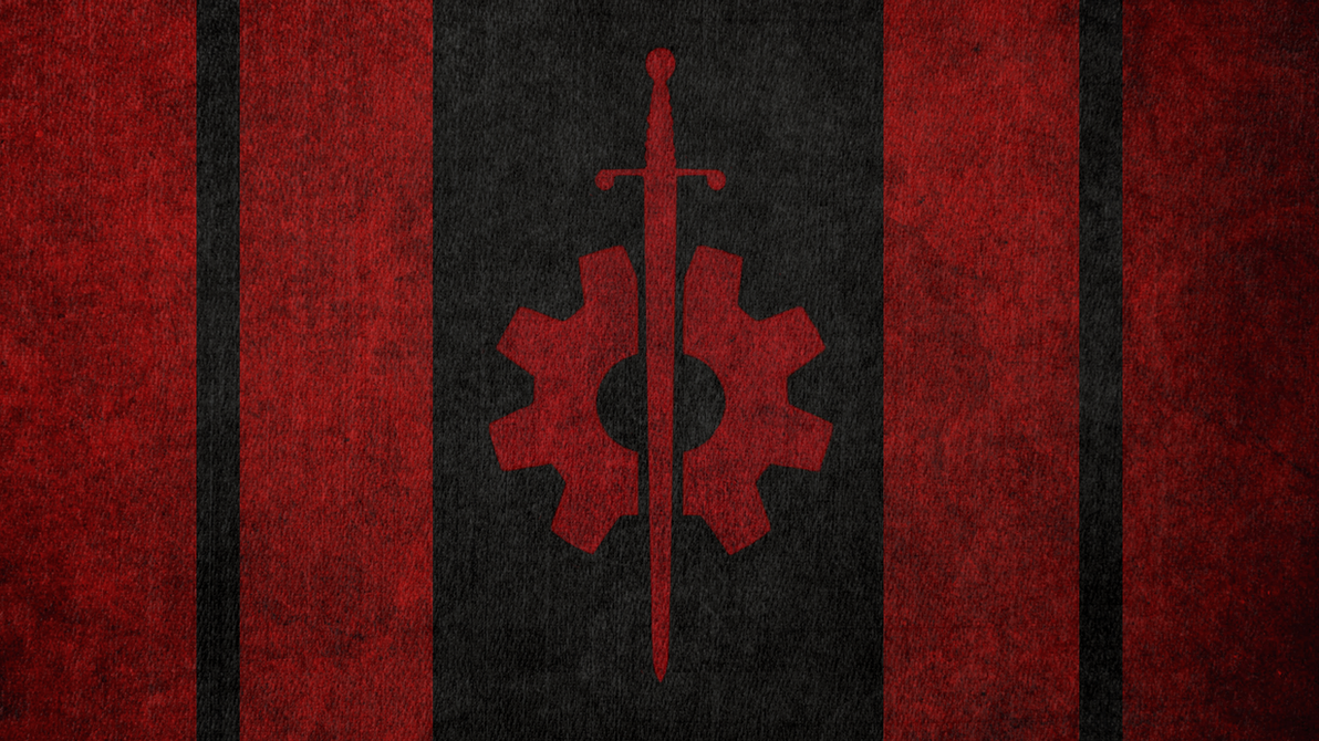 FALLOUT Flag Of The Brotherhood Outcasts By Okiir