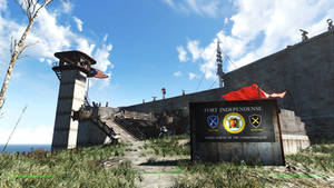 FALLOUT: Fort Independence, Main Gate