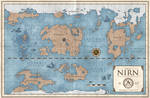 The Elder Scrolls: World Map of Nirn
