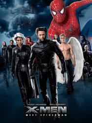 Xmen meet Spiderman by BTNH108464