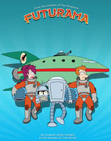 Futurama Movie Poster by BTNH108464
