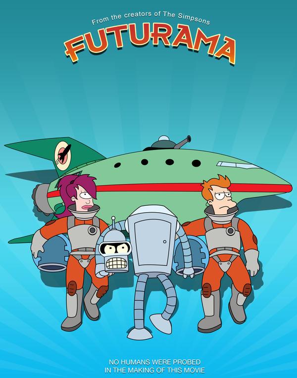 Futurama Movie Poster by BTNH108464