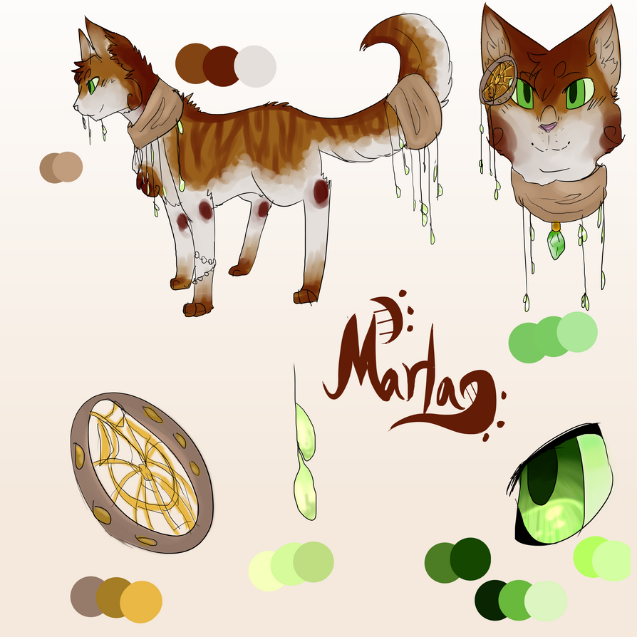 Marla's Redesign-Contest entry by Dragonwarriorcat223