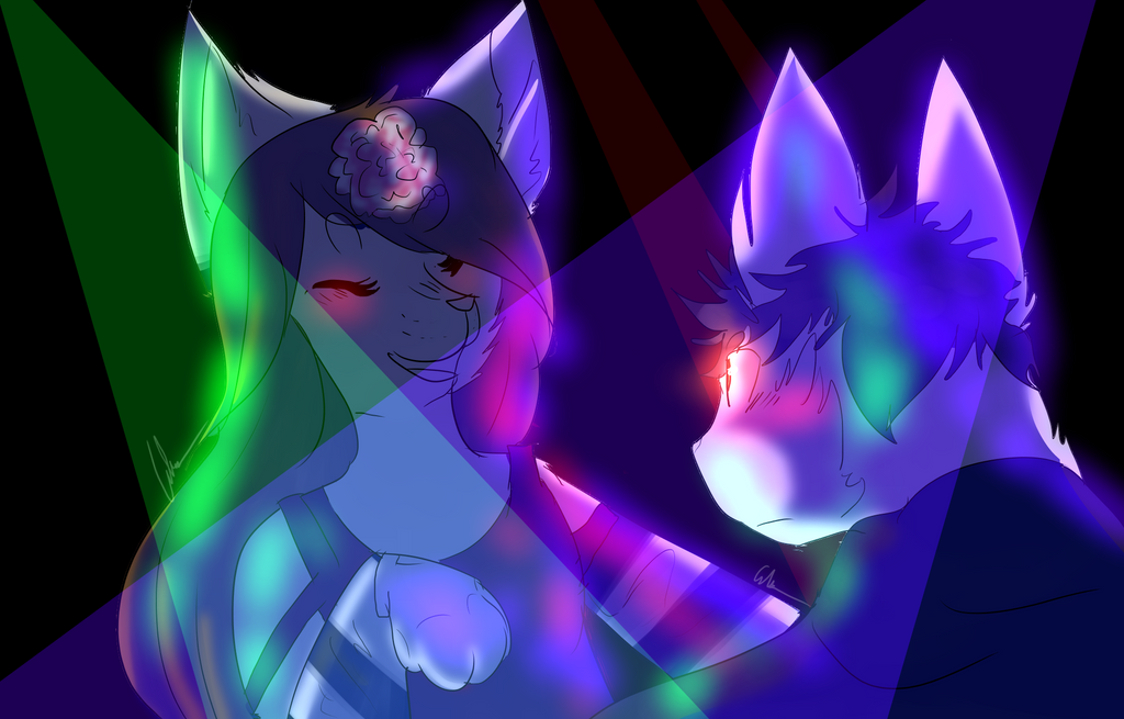 Shut up and Dance with me!~ Art Trade by Dragonwarriorcat223