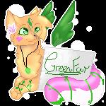 Pixel Sign~Commission-kittyfurever by DragonWarriorCat