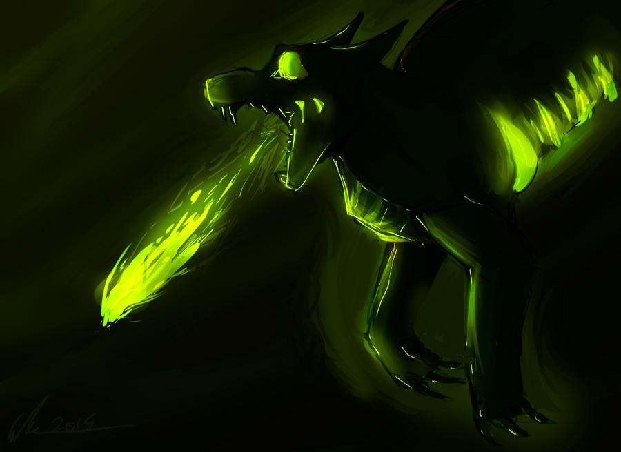 ~Acid~ Painting by DragonWarriorCat
