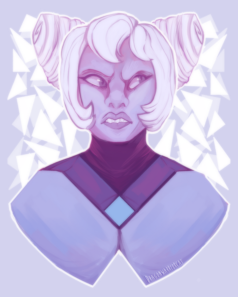 Speedpaint Honestly, she's my fav homeworld gem because she is a total salt machine. I'm gonna draw all my fav gems sooner or later.Or maybe finish commissions Art (c) Me Character (c) Rebecca Sugar