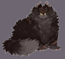 Yellowfang | Fanart by DragonWarriorCat
