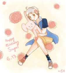 Happy (Belated TwT) Birthday Suga!!
