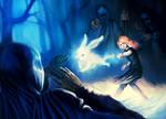 Luna Lovegood vs Dementors by patrickdeza