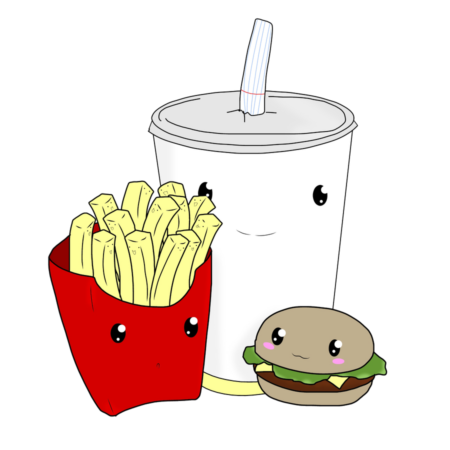 how to draw food so cute