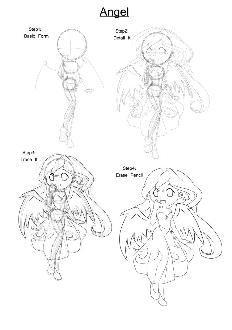 how to draw a anime tomboy
