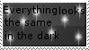 Same in the Dark Stamp by Crystalstar1001