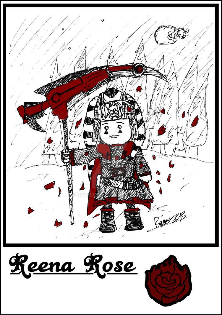 Reena and Jub: Reena Rose by Rivyer7