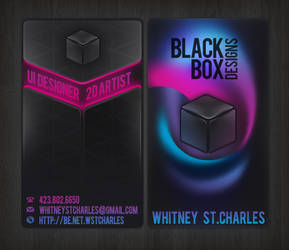 Black Box Designs by neyali