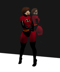 ElastiGirl Rear View Mirror recreate by SSJmike22