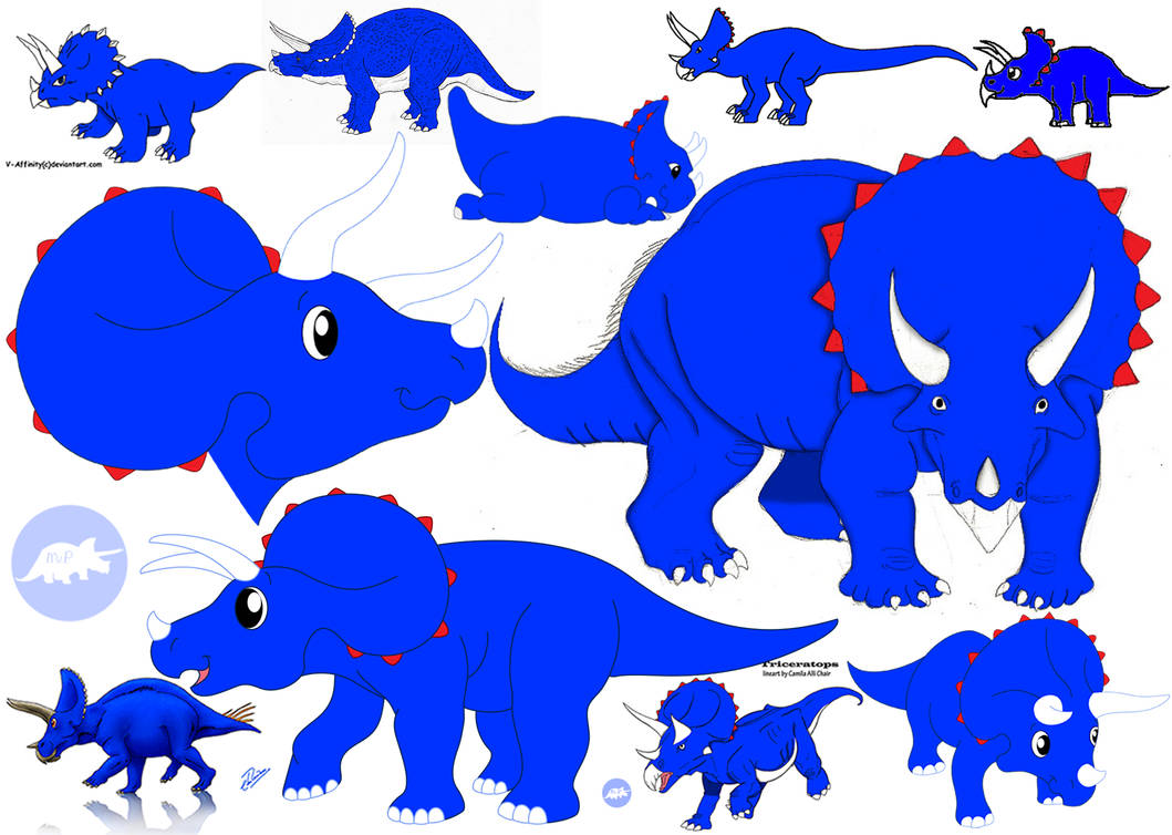 Triceratops Wallpaper by DinoLover09 ...