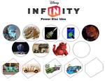 My Disney Infinity Power Disc Ideas