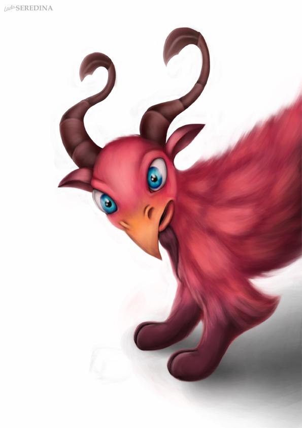 Creature 1 by LadaSeredina