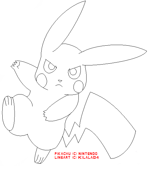 Pikachu template by plushpaws on deviantart pikachu template by kilala04 pronofoot35fo Gallery