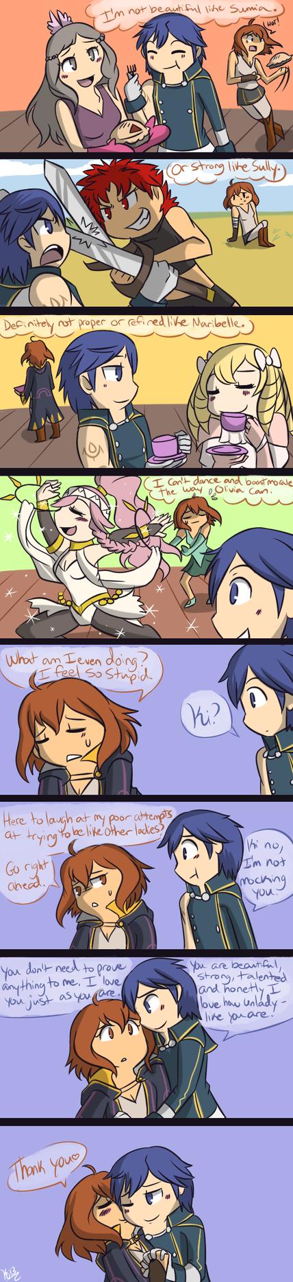 FE- Ki tries too hard by Kilala04