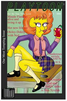 Playtoon Maude Flanders by napoleonxvi