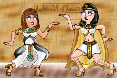 HayleyXMegXEgypt by napoleonxvi