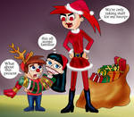 Vicky Steals Christmas