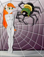 Future Betty and a Spider From Mars by napoleonxvi