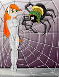 Future Betty and a Spider From Mars