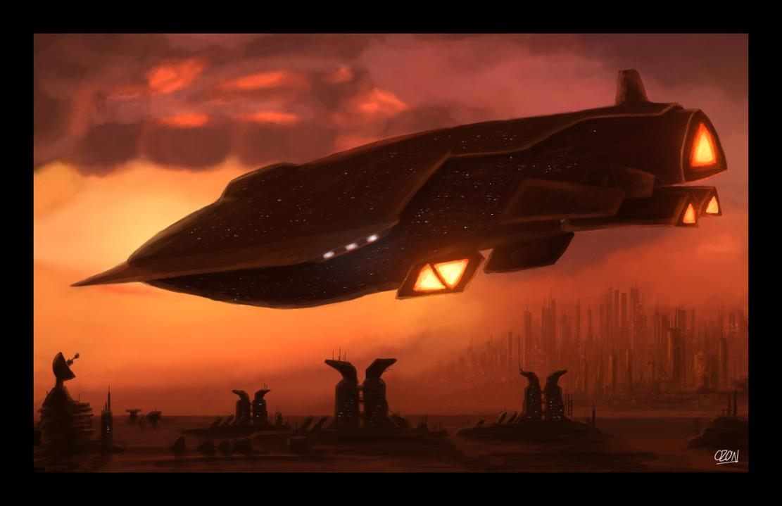 Brackman's Ship by ozonex-o3