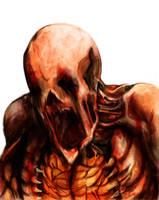 Dead Space 2 Puker WIP by justencase