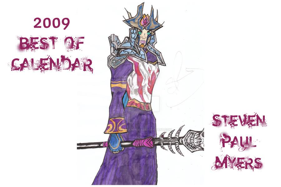 2009 Best Of Calendar by StevePaulMyers