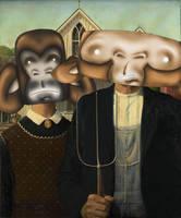 A-Monkey-in Gothic by StevePaulMyers