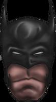 Batman Digital Painting by StevePaulMyers