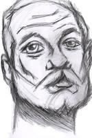 Bill Murray Sketch by StevePaulMyers