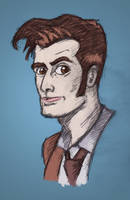 David Tennant Colour by StevePaulMyers