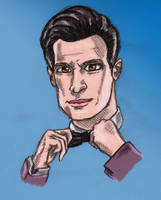 Matt Smith Colour 2 by StevePaulMyers