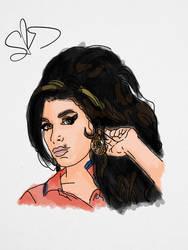 Amy Winehouse by StevePaulMyers