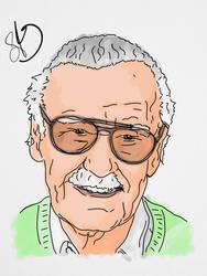 Stan Lee by StevePaulMyers
